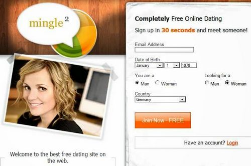Dating site free search